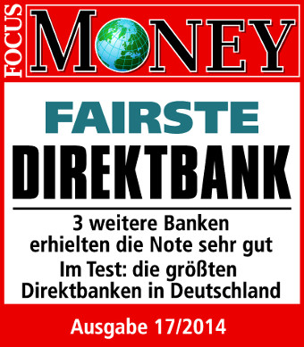 Focus Money Fairste Direktbank