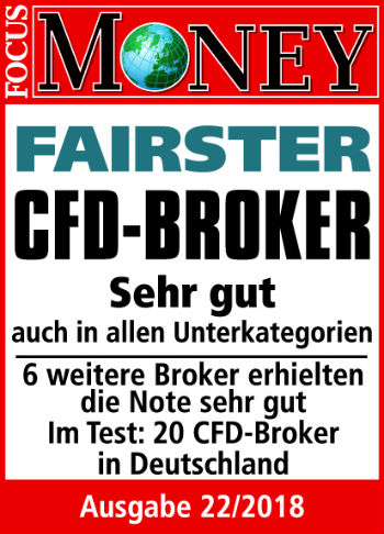 Focus Money Fairster CFD Broker Consorsbank 2018