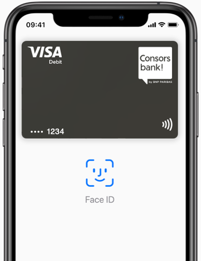 Apple Pay Visa Debitkarte