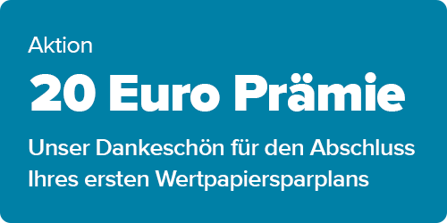 Sparplan plus 20 Euro Prämie