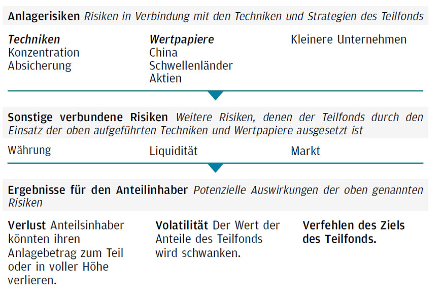 Risiko-Darstellung JPMorgan – Pacific Equity Fund