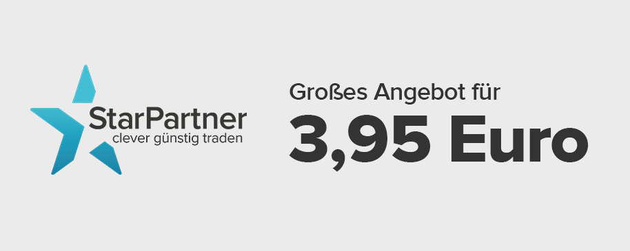 3,95 Euro StarPartner-Aktion