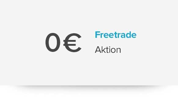 0 Euro Freetrade-Aktion