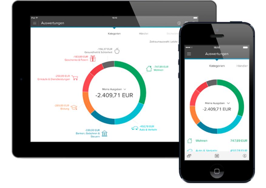 Mobile App von der Consorsbank