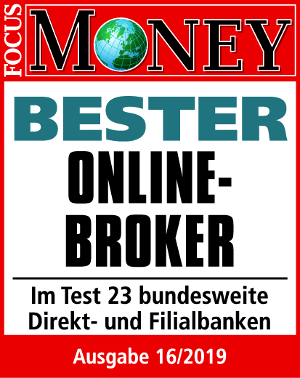 Bester Online-Broker Focus Money 2019