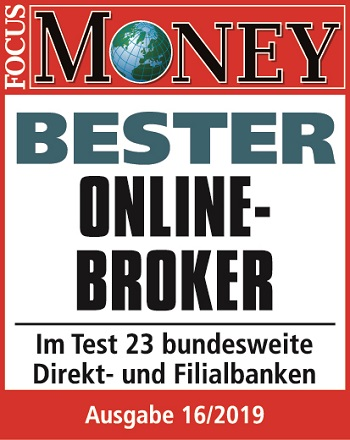 Bester Online-Broker 2019 FOCUS-MONEY